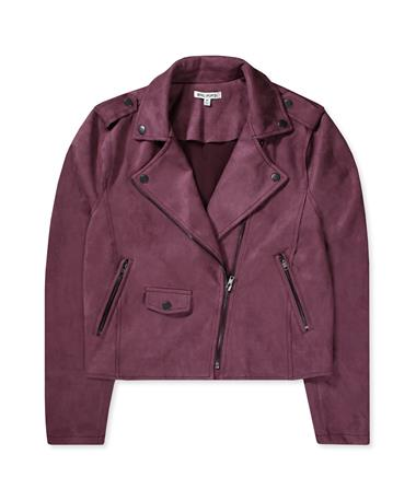 Everit Jacket-Front Plum Wine