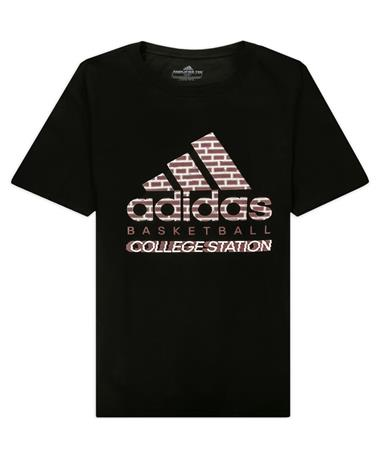 Texas A&M Adidas Basketball Bos City T-Shirt