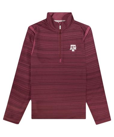 Texas A&M Tommy Bahama Tidal Stripe Half Zip