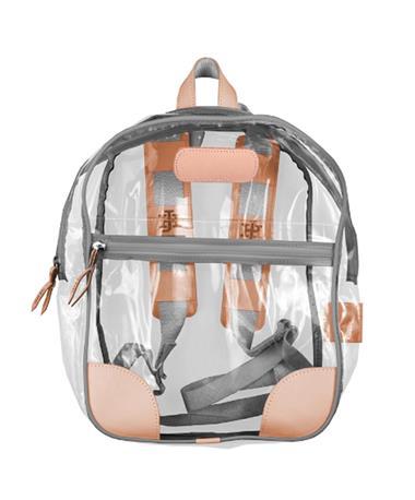 Jon Hart Slate Clear Backpack