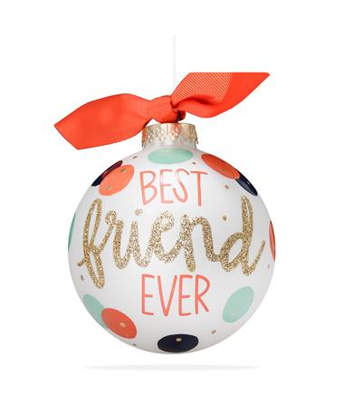 Coton Colors Best Friend Ever Ornament MULTI