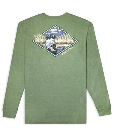BURLEBO Duck & Dog Pocket Long Sleeve