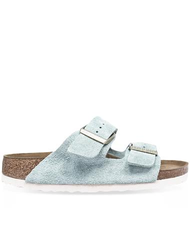 Arizona Narrow Light Blue Soft Birkenstocks