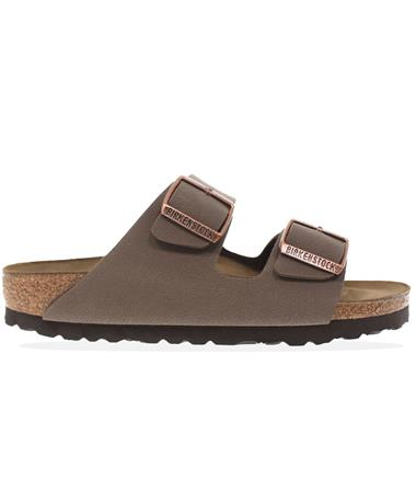 Unisex Arizona Mocha Narrow Birkenstocks - Side MOCHA