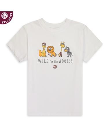 Texas A&M Wild For The Aggies Toddler T-Shirt