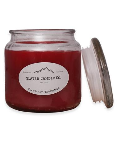 Slater Cranberry Peppermint Candle Multi