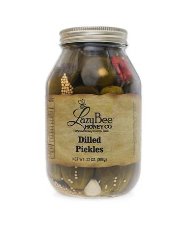 Lazy Bee Honey Dilled Pickles - Front Multi