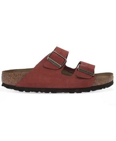 Maroon Unisex Arizona Narrow Birkenstocks