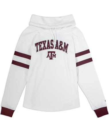 Texas A&M Champion Women's Super Fan Cowl Pullover