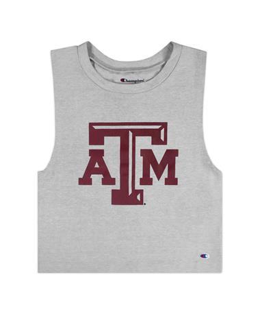 Texas A&M Champion Ultimate Fan Crop Top
