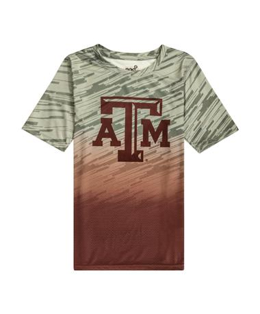 Texas A&M Stadium Youth Performance Tee