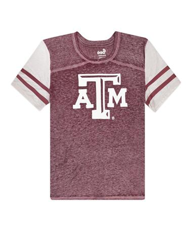 Texas A&M School Spirit Youth Football Tee