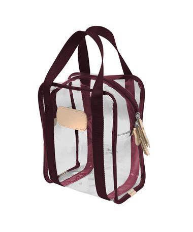 Maroon Jon Hart Clear Shag Bag