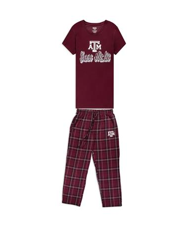 Texas A&M Women's Top & Pants Pajama Set