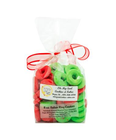 Festive Italian Ring 8oz. Cookies