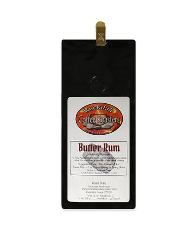Rockdale Butter Rum Coffee 12 oz.