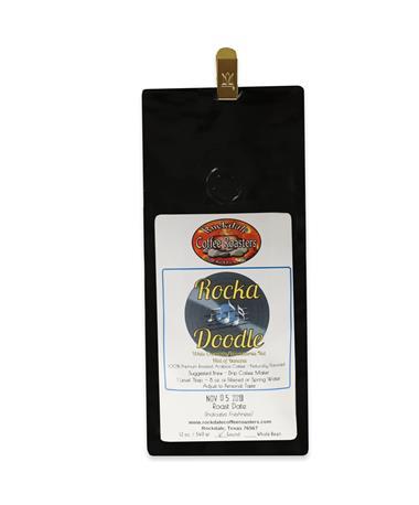 Rockdale Rocka Doodle Coffee-Front Multi