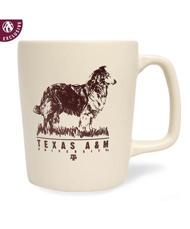 Texas A&M Full Reveille Mug