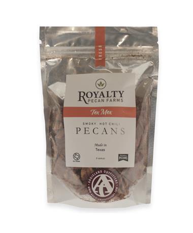 Royalty Farms Spicy Texan Pecans - 8 Ounces Multi