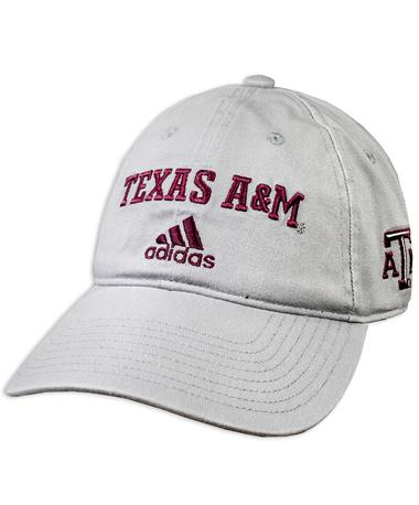 Texas A&M Adidas Bos Cotton Slouch Adjustable Hat
