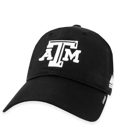 Texas A&M Adidas Coach Slouch Adjustable Hat