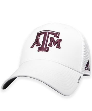 Texas A&M Adidas Coaches Structured Mesh Adjustable Hat
