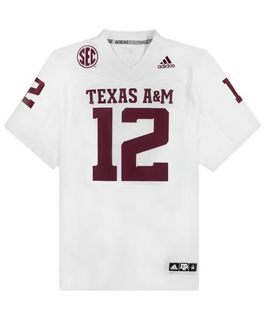 Texas A&M Adidas Premier 2020 Away Jersey