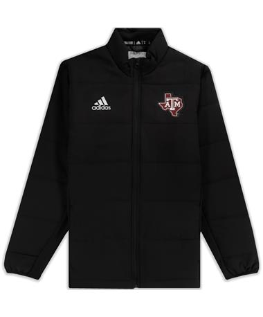 Texas A&M Adidas Under The Lights Full Zip Jacket