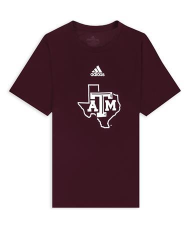 Texas A&M Adidas Lone Star Locker Room Creator T-Shirt