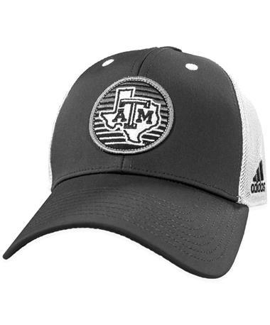 Texas A&M Adidas Mesh Trucker Structured Hat