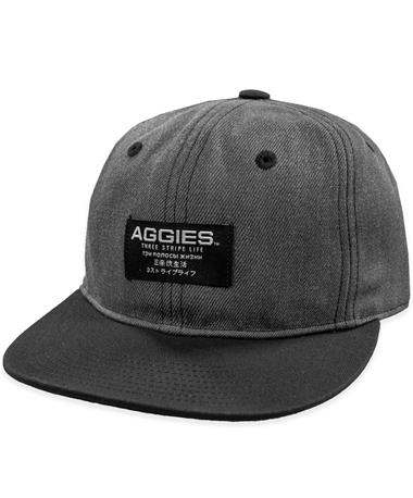 Texas A&M Adidas Wool Flat Brim Hat