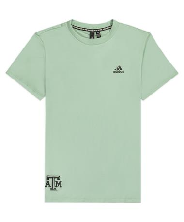 Texas A&M Adidas Women's 3 Stripe Tee