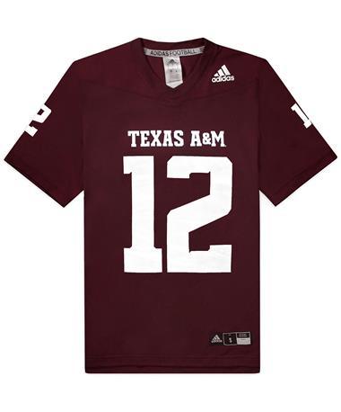Texas A&M Adidas Replica 2020 Home Jersey