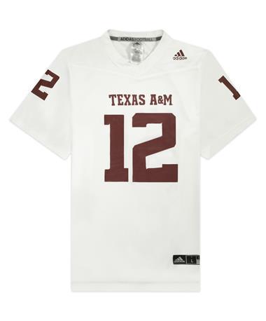 Texas A&M Adidas Replica 2020 Away Jersey