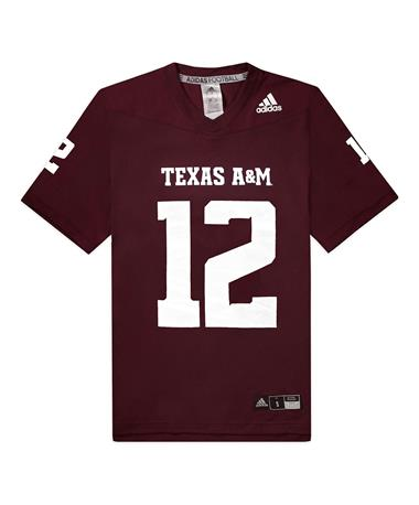Texas A&M Adidas Replica 2020 Youth Jersey