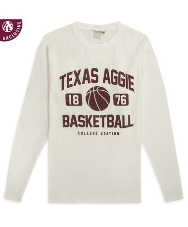 Texas A&M Aggie Basketball 2019 Long Sleeve Tee