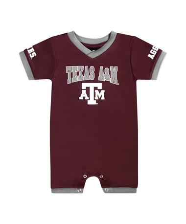 Texas A&M Colosseum Barnacle Boy Onesie Romper