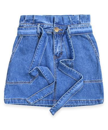 High Waist Mini Skirt DENIM