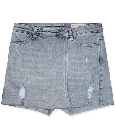 Wishlist Layered Denim Skort