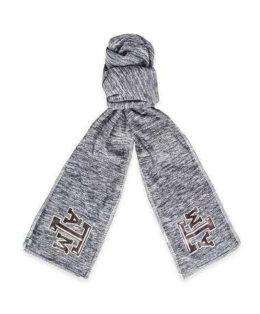 Texas A&M Top Of The World Scarf Grey