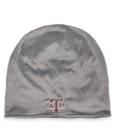 Texas A&M Adidas Performance Beanie - Front Grey