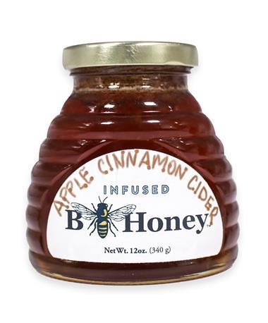 Beeweaver Apple Cinnamon Cider Infused Honey - Front