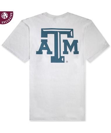 Texas A&M Smoke Simple Arch Tee Smoke AH