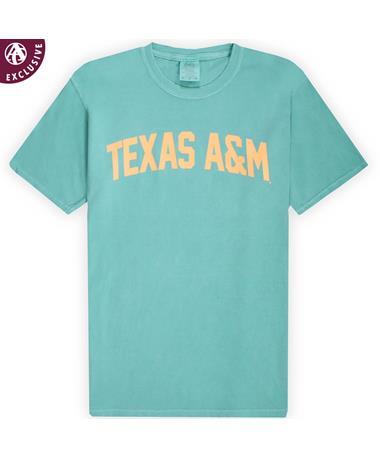 Texas A&M Seafoam Simple Arch T-Shirt