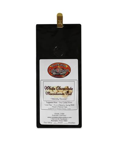 Rockdale White Chocolate Macadamia Nut Coffee 12 oz