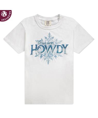 Texas A&M Snowflake Howdy Youth T-Shirt
