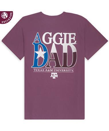 Texas A&M Texas Aggie Dad T-Shirt