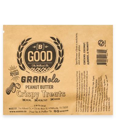 Peanut Butter Granola Crispy Treats Bar