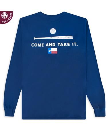 Texas A&M Come & Take It Baseball Long Sleeve T-Shirt