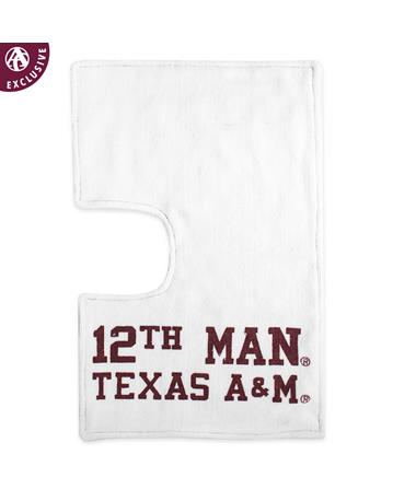 Texas A&M Seamed 12th Man One-Sided Burp Rag
